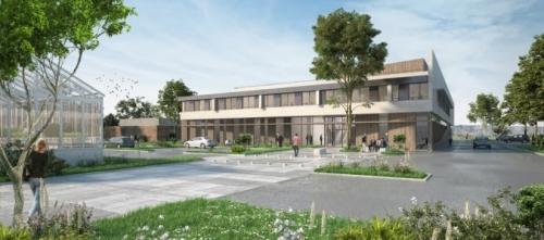 PAPS-B : un bâtiment de l'UT3 sur le campus INRAE