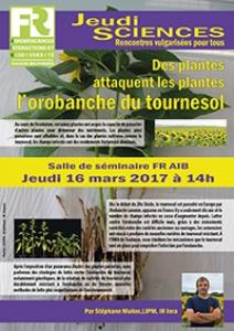 S. MUNOS - Des plantes attaquent les plantes : l'orobanche du tournesol